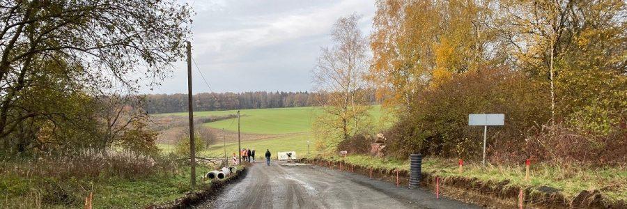 Sanierung Ortsdurchfahrt L278 Gebhardshain